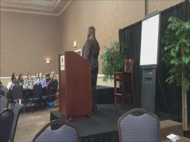 Darrius Garrett, Youth Speaker