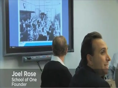 Joel Rose new classrooms, school of one, education entrepreneuer
